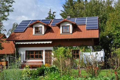 4,6 kWp Schöngeising /  Suntech mit SMA