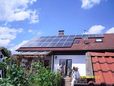 6,37 kWp Mittelstetten /  IBC MonoSol mit SMA