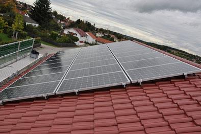 9,88 kWp Isen Westseite / IBC MonoSol mit SMA