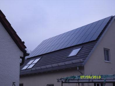 8,775 kWp Dachau / IBC MonoSol Black mit SMA