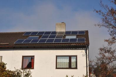 4,1 kWp München /  Suntech mit SMA