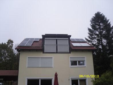 5,07 kWp Ottobrunn  /  IBC MonoSol mit SMA