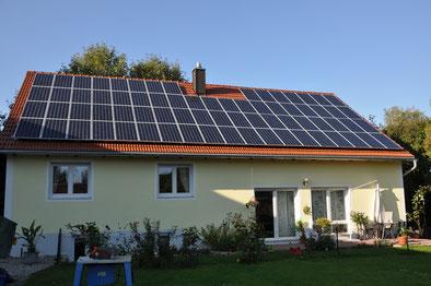 14,4 kWp München / Suntech mit SMA