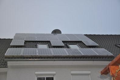 4,6 kWp Dachau /  Suntech mit SMA