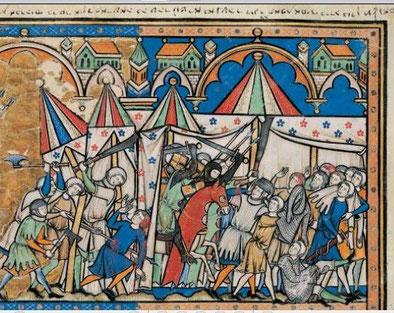 Maciejowski-Bibel: Folio 3v