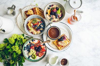 Nutze Dein Frühstück als eine persönliche Auszeit. Du bist es wert!