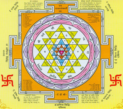 Yantra, Shri Yantra, Mantra, Heilige Geometrie, Symbol für Lakshmi, Tantra