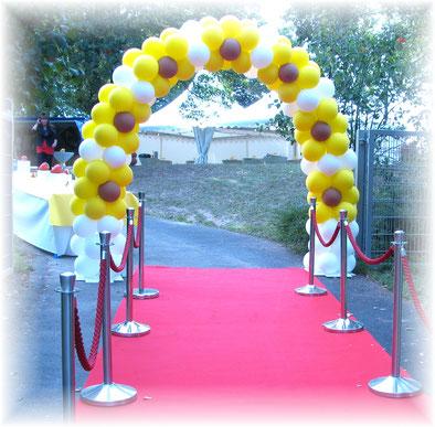 Luftballon Ballon Bogen Dekoration Firmenevent Neueröffnung Jubiläum Sommerfest