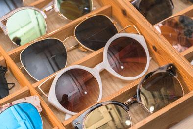 Farbtypgerechte Brille