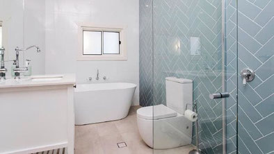 House full bathroom renovations - After photo