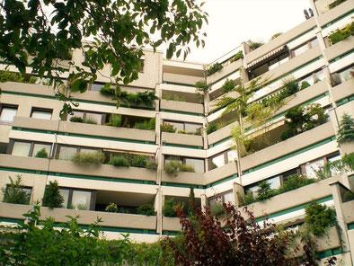 Bild: Wohnen in Hannover / Terrassenhaus