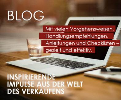 Blog-Beiträge von Verkaufstrainer Thomas Pelzl regelmäßig erhalten und von Verkaufstipps profititeren