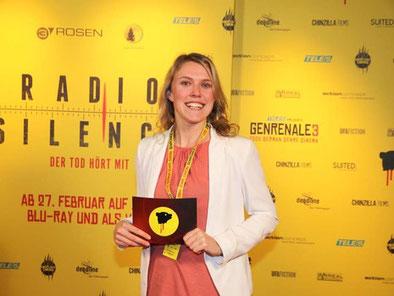 Genrenale, Berlin, Mara Scherzinger, Moderatorin, Paul Andexel, Krystof Zlatnik, Babylon Kino Berlin, Deutscher Genrefilm