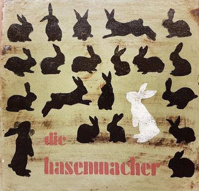 Keramikplatte angefertigt für Hanna und Germann Oppliger www.die-hasenmacher.ch