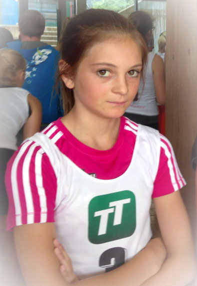 Sieg in der Klasse U13/U14 KOFLER Eva- Maria (SC- Wald)