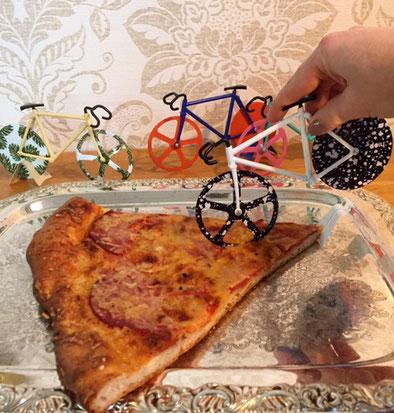 Pizzaschneider Geschenkartikel rund um´s Fahrrad