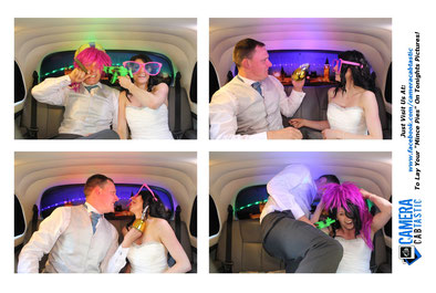 Taxi Photo Booth Wedding Holmbush House East Sussex
