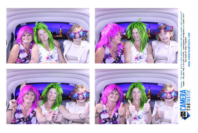 Taxi Photo Booth Red Barn Tandridge