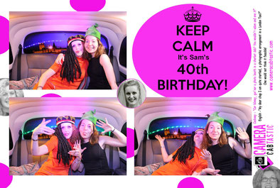 Birthday Party Photo Booth Hire Sussex
