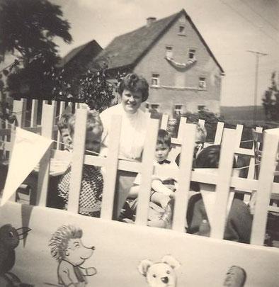 Bild: Teichler Wünschendorf Erzgebirge Schul und Heimatfest 1965