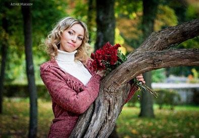 фотосессия на природе в Харькове в саду Шевченко
