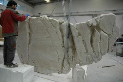 Construcción Petroglifos Foz Coa