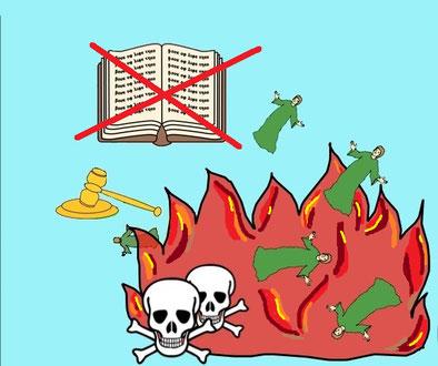 Pendant le règne millénaire, beaucoup choisiront de suivre les propositions mensongères du diable qui sait se transformer en ange de lumière. Ils seront finalement jetés dans le l'étang de feu et de soufre et y subiront la seconde mort.