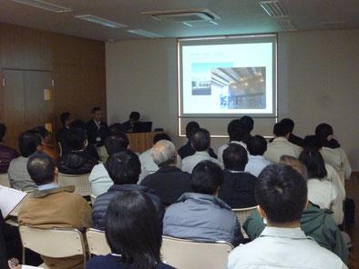 片桐銘木工業の会社概要と集成材についての説明