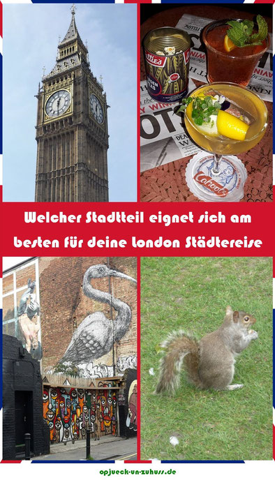 London welcher Stadtteil / wo übernachten in London