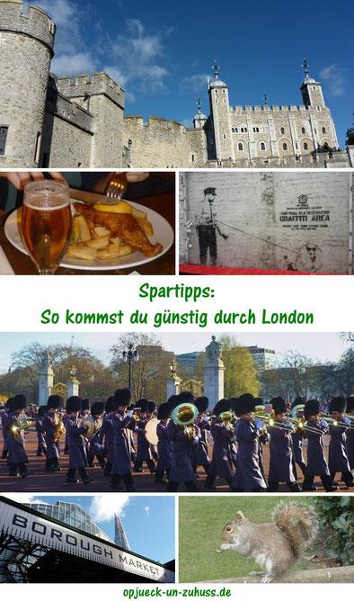 Spartipps: So kommst du günstig durch London (London günstig Tipps)