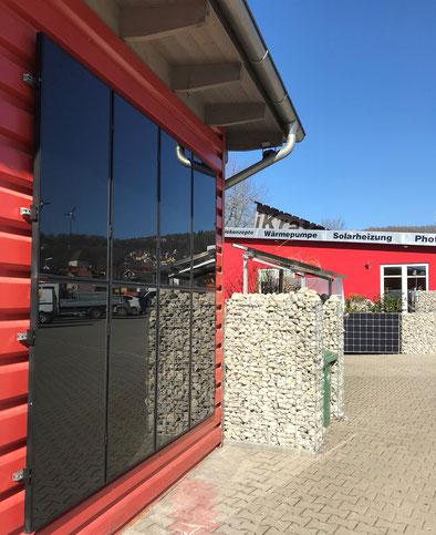 Solarfassade in Weißenohe
