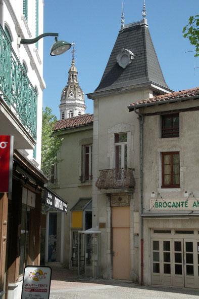 Bild: das kleinste Haus in Bourg-en-Bresse