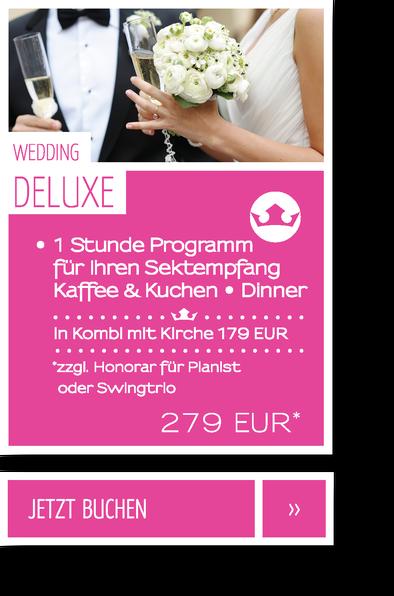 Ihre Hochzeitssängerin Elisabeth Wörmann: Preise & Leistungen Wedding Special für 279 EUR