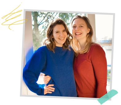 Janine Klumper und Hannah Flunkert EDULEO Akademie