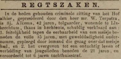 Leeuwarder courant 16-01-1885
