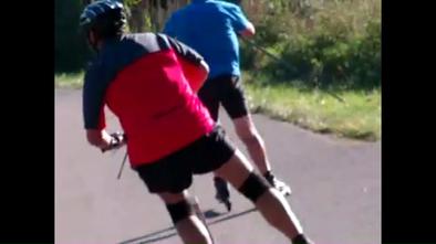 Sportliche Spiesse - aber fatal gefährlich . . besser mal schnell hinter sich bringen . . .