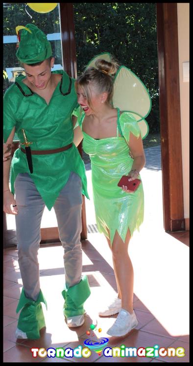 animazione a tema Peter Pan roma