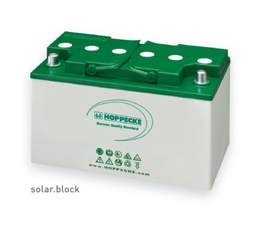Hoppecke AGM batteries SOLARA solar energy storage