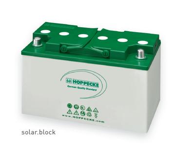 Hoppecke AGM Batterien SOLARA Stromspeicher