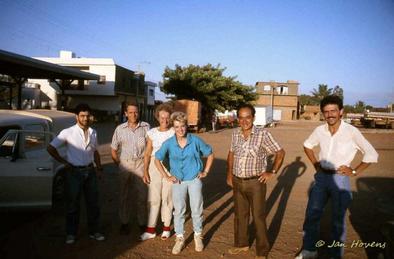 Charles Esteves Pereira, Mr/Mrs van Criekinge, Carla Wolters, Eddie Esteves Pereira, Pierre Braun (MG, Mato Verde 1986)