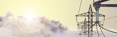 高圧配電鉄塔の画像