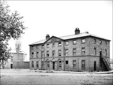 The Barracks in 1900