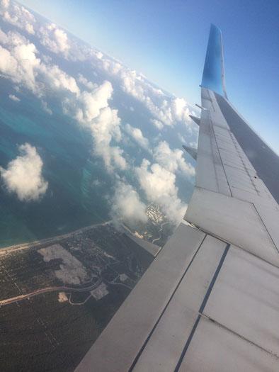 Atterraggio a Cancun