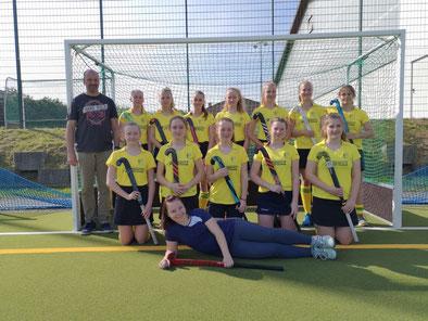 Die weibliche B-Jugend gewann auch ihr 2. Saisonspiel, diesmal mit 4:1 gegen den Leipziger SC.