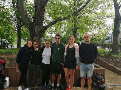 von links: Elli, Antonia, Aline, Julian, Natalie und Daniel