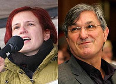 DIE LINKEs ledelsesduo Katja Kipping og Bernd Riexinger