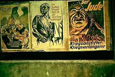 Antisemistische Propaganda der NSDAP in der Flick seit 1937 Mitglied war