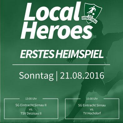 Heimspiel SG Eintracht Sirnau