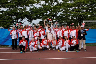 Team Austria bei der Universiade Gwangju 2015