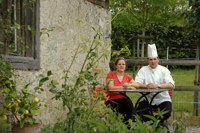 Gastgeberpaar Petra und Mirco Schumacher